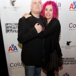 Lana Wachowski and brother Andy