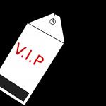 V.I.P. Name Tag