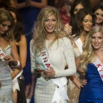 Jenna in the Miss Universe Canada Pageant